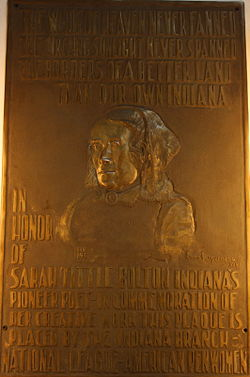 The Sarah T. Bolton relief