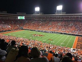 Boone Pickens Stadium stadium at Oklahoma State University