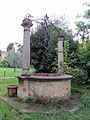 Borgo pinti 60, istituto s. silvestro, giardino, pozzo 06.JPG