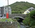 Boscastle Bridge (Before the Flood) - geograph.org.uk - 470065.jpg
