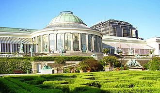 Botanic Garden Meise - Le Botanique in Brussels was the main orangery of the National Botanic Garden of Belgium