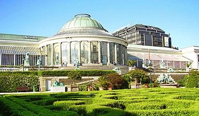 Hoe gaan naar Botanique met het openbaar vervoer - Over de plek