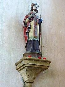 Botmeur église 2 Statue de Saint-Eutrope.JPG