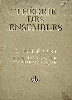 <i>Éléments de mathématique</i>