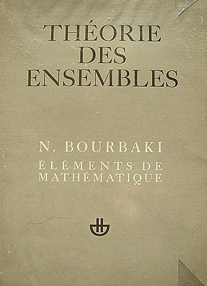 Nicolas Bourbaki - First volume of Éléments de mathématique, 1970 edition