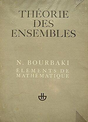 Nicolas Bourbaki - First volume of Éléments de mathématique, 1970 edition