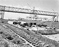 Bouw van de Coentunnel in Amsterdam-Noord ten oosten van de vlothaven, Bestanddeelnr 915-2507.jpg
