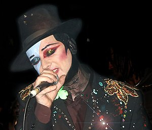 New Romantic - Boy George performing at Ronnie Scott's Jazz Club in 2001