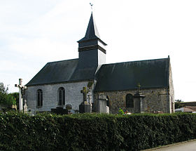 L'église Saint-Brice.