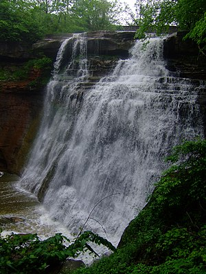 Brandywine Falls in Cuyahoga Valley National P...