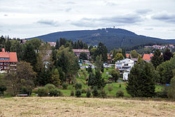 Braunlage with the Wurmberg mountain behind