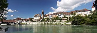Bremgarten, Aargau - Image: Bremgarten AG Reuss