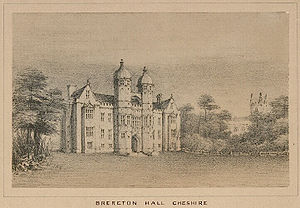 John Brereton, 4th Baron Brereton - Brereton Hall, the seat of the Brereton family.