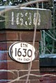 Bridge 1630 (sign) - geograph.org.uk - 1608357.jpg