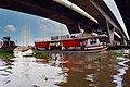 Bridge over the Chao Phraya River Bangkok Thailand by Don Ramey Logan.jpg