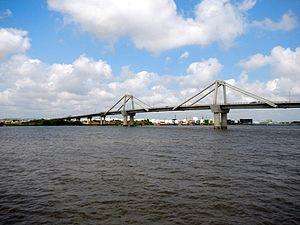 Sitionuevo - Image: Bridge over the Magdalena River (16049525434)