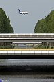 "Bridges across ""de hoofdvaart"" near Amsterdam schiphol (3798512852).jpg"