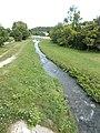 Bridges over Séd in the Episcopal relaxation park, 2016 Veszprém.jpg