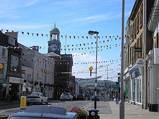 Bridport market town in Dorset, England