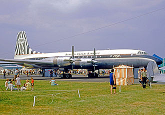 African Safari Airways - African Safari Bristol Britannia 314 in 1970