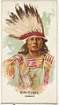 British, Ioway, from the American Indian Chiefs series (N2) for Allen & Ginter Cigarettes Brands MET DP828038.jpg