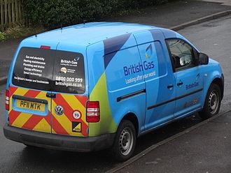 British Gas - A newly designed British Gas van