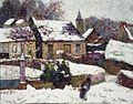 Brooklyn Museum - Wet Snow Auvergne - Victor Charreton.jpg