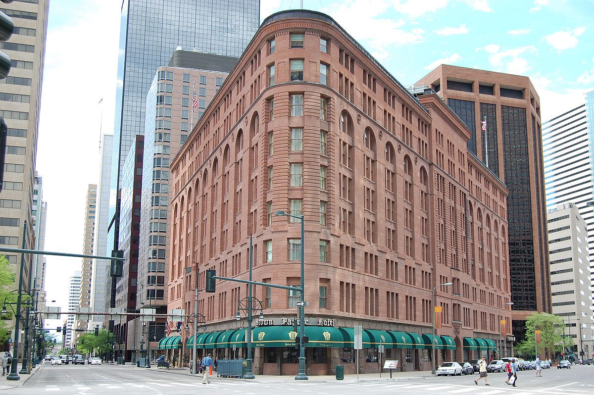 Brown Palace Hotel Denver Colorado Wikipedia