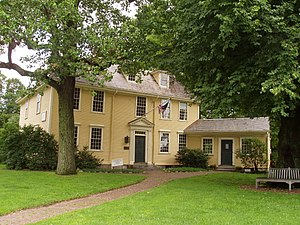 National Register of Historic Places listings in Lexington, Massachusetts - Image: Buckman Tavern, Lexington, Massachusetts