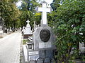Bucuresti, Romania, Cimitirul Bellu Ortodox - Serban Voda (Mormantul actritei Irina Rachiteanu Sirianu).JPG