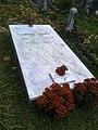 Bucuresti, Romania. Cimitirul Bellu Catolic. 2017, Noiembrie. Ziua Mortilor. Mormantul lui Ludovic Mrazec.jpg