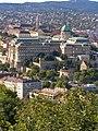 Budapest, Burgpalast von der Zitadelle 2014-08.jpg