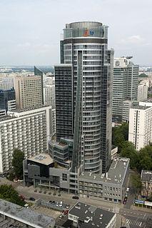 Skyscraper in Warsaw