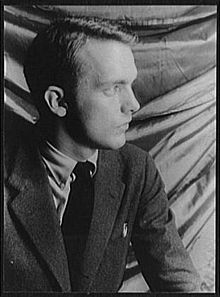 Frederick Buechner as photographed in 1950 by Carl Van Vechten