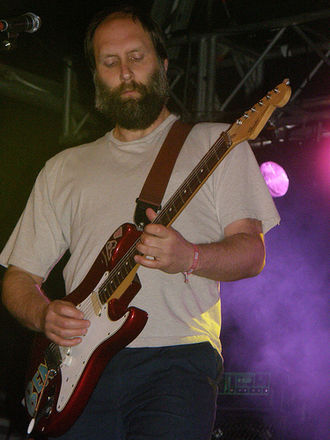 Built to Spill - Doug Martsch performing with the band at Primavera Sound Festival.