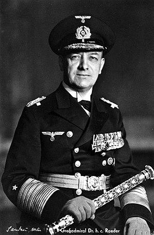 Erich Raeder - Erich Raeder as Grand Admiral