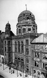 Nouvelle Synagogue De Berlin Wikip 233 Dia