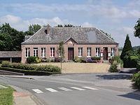 Burelles (Aisne) mairie.JPG