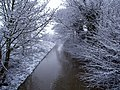 Burstwick Drain in the Snow from Sheriff Highway, Hedon - geograph.org.uk - 734260.jpg
