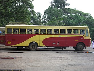 Kerala State Road Transport Corporation - Fast Passenger bus