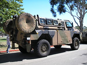 Bushmaster Protected Mobility Vehicle - A pre-production Bushmaster