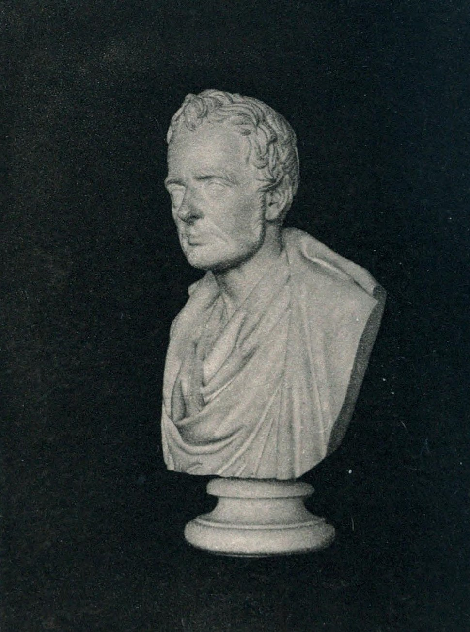 Bust of Thomas de Quincey