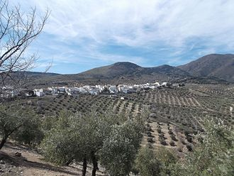 Cárcheles - Panorama of Cárchel.