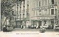 Céret - Boulevard et place de l'ancienne poste (CP Roque).jpg