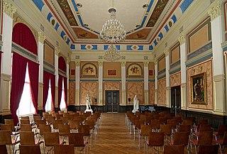 Ústí nad Labem, muzeum, Císařský sál