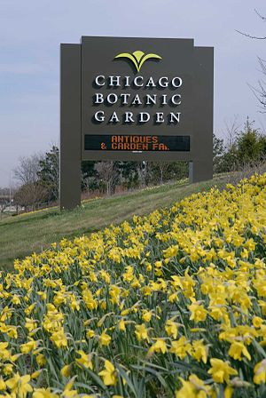 Chicago Botanic Garden Edens sign