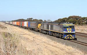 CFCL Australia - EL class locomotives in January 2007