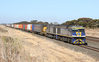 CFCL Australia - EL class locomotives in January 2007