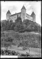 CH-NB - Champvent, Château de Champvent, vue d'ensemble extérieure - Collection Max van Berchem - EAD-7234.tif
