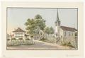 CH-NB - Jegenstorf, Pfarrhaus und Kirche - Collection Gugelmann - GS-GUGE-WEIBEL-D-58a.tif